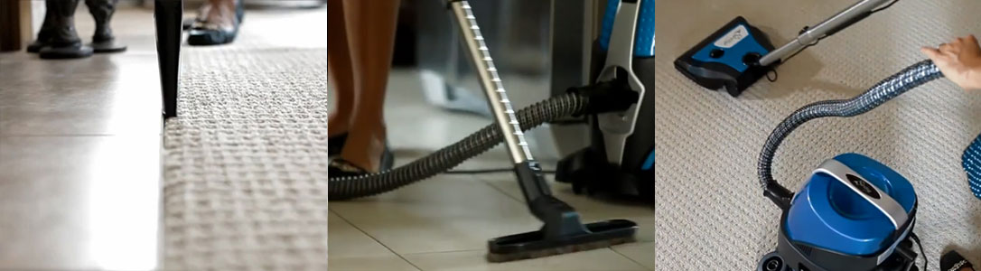 Sirena cleaning hard floors and carpets
